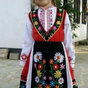 Детска тракийска носия