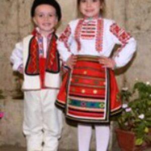 Детска северняшка носия за момиче